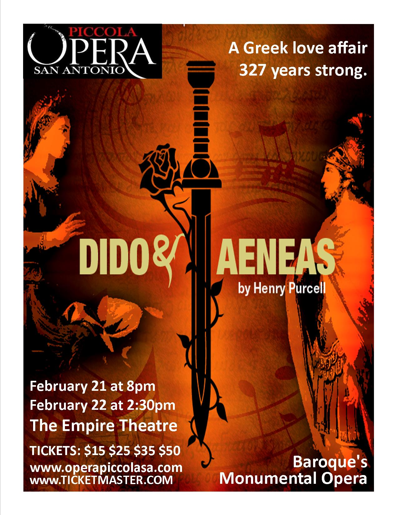 Dido & Aeneas by Henry Purcell